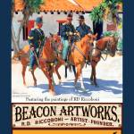 """Dragoons Poster from Beacon Artworks Gallery"" by RDRiccoboni"