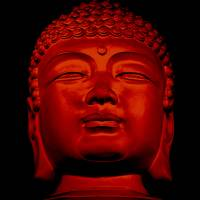 """Red Buddha"" by dianeward"
