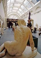 London Museum Marble Statue