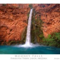 Mooney Falls and Pool by Eileen Ringwald