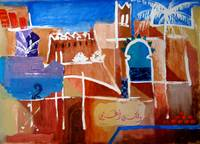 Marrakech - abstract