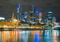 Central Melbourne at Night