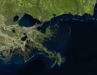 Mississippi River Delta, Louisiana