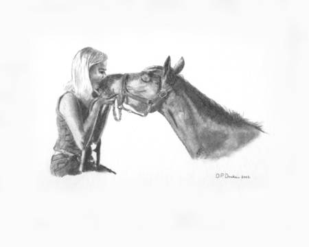 Horse Kisses by Jessica Drake