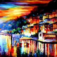 """Ocean Village Twilight"" by artistdanielwall"