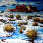 White Desert Prints & Posters