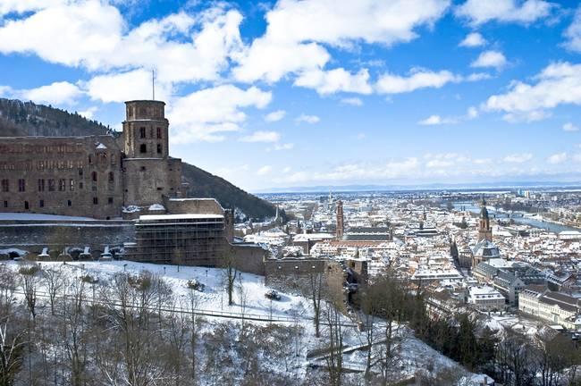 Image result for Heidelberg Castle in Snow