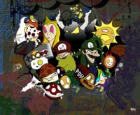 Mario and Friends Urban Explosion