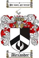 alexander coat of arms / family crest
