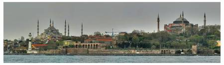 Hagia Sofia and Blue Mosque