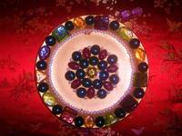 Golden Jewel Plate