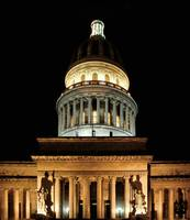 Capitolio At Night