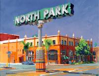North Park Sign by RD Riccoboni
