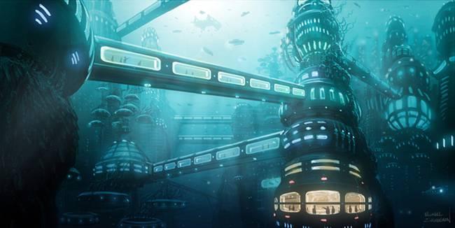 Étrangers sur Terre... Et dans les mers [Mister Miracle] Sub-City_art