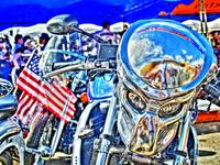 Predator Bike - HDR - Tone mapped