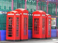 Phone Boxes at Smithfield Market