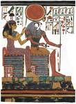 Hathor and Re