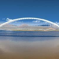 Roosevelt Bridge Panorama by Donnie Shackleford