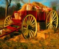 Farm Harvest Wagon