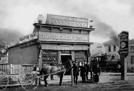 Tucker Paint Company, Oakland c1880