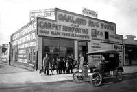 Oakland Rug Works, c 1910 by WorldWide Archive