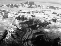 Alaskan Paradise in Black and White