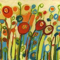 """Growing Poppies"" by JENLO"