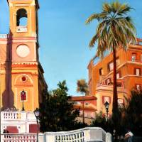 Spanish Steps 2 Art Prints & Posters by Leah Wiedemer