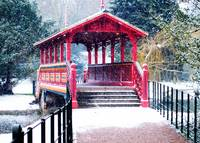 Swiss bridge at Birkenhead Park