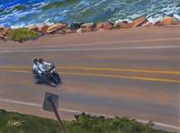 California Beach Motorcycle Cruising PCH