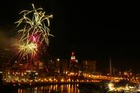 Fourth of July on the Mississippi in St. Paul MN