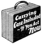 Carrying Case Included -- 1931 illustration
