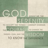 Serenity Prayer II