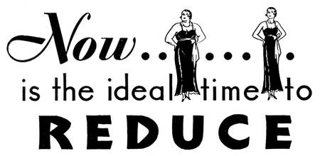 Time to Reduce, 1932 ad