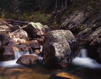 Boulder Strewn Stream Waterfalls