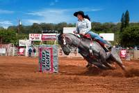 Barrel Racing in Maui