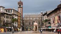 wide view piazza erbe