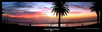 Camps Bay Beach Sunset