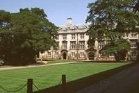 Sidney Sussex College Garden by Priscilla Turner