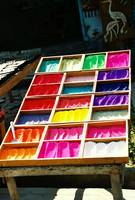 dyes at Pashupatinath temple