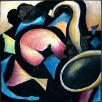 Tuba Man Art Prints & Posters by Katherine Williams