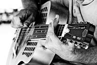 Lightroom Version of Blues Guitar Player