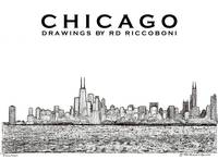Chicago Art By Riccoboni
