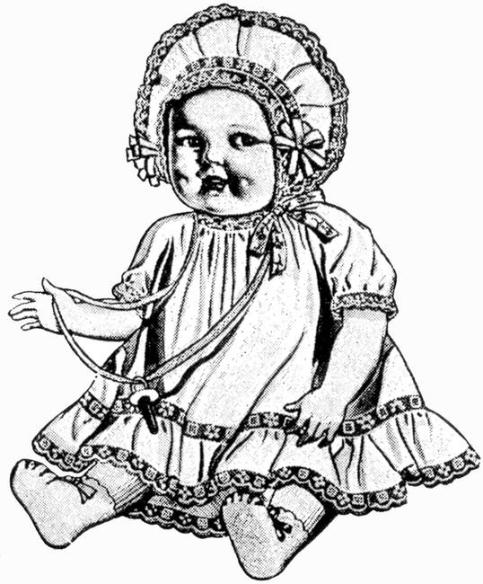 Baby Doll Detail 1930 Ad Artist Unattributed By Arcanium Antiques