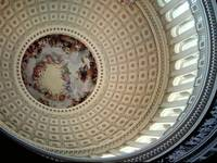 Ceiling of the Rotunda, Capitol Dome