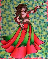 Ruby Belly Dancer