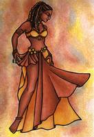 Nubian Sister Belly Dancer
