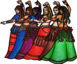 Tribale Line Belly Dancers