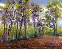 Louisiana Art; Wisteria Takes Over