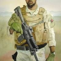 Modern Day Soldier Watercolor Painting Art Prints & Posters by Kerra Lindsey